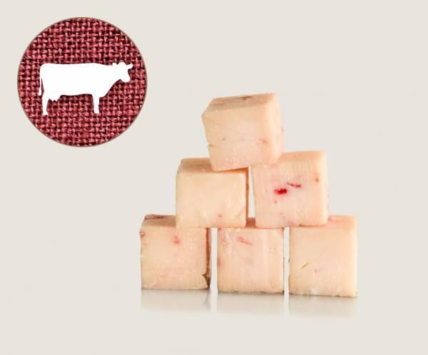 Graf Barf Fett Rind / Rinderfett - hochwertige Rohfutterwürfel für Hunde bestellen!
