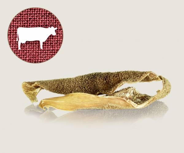Graf Barf Getrockneter Rinderpansen / Knusper-Pansen vom Rind - beliebten Knabberspaß für Hunde bestellen!