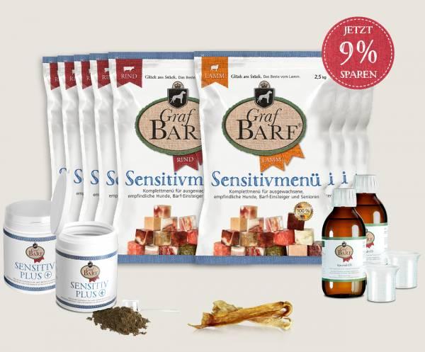 Graf Barf Sensitivpaket Mix - Hunde richtig barfen mit Graf Barf