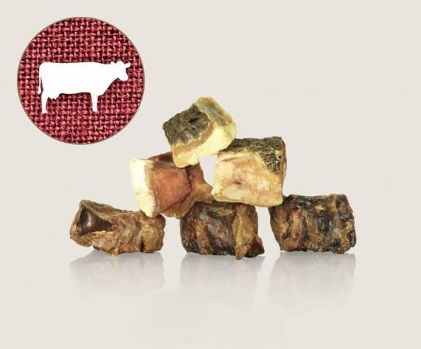 Graf Barf Getrockneter Rindermix / Knusper-Mix vom Rind - natürlichen Knabberspaß für Hunde bestellen!