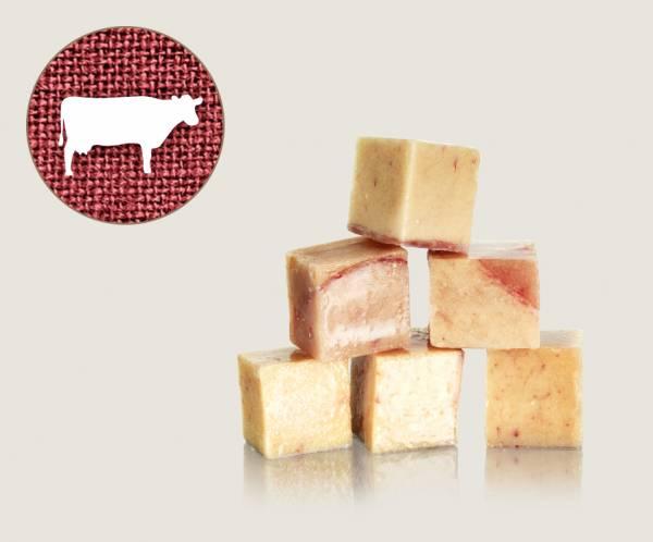 Graf Barf Hoden Rind / Rinderhoden - hochwertige Rohfutterwürfel für Hunde bestellen!